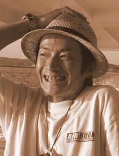 海旅団代表。RAINBOW CHILDオーガナイザー、西田優太氏(ニシダッシュ) 永遠に…